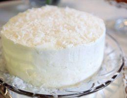 Snow White Coconut Cake-4