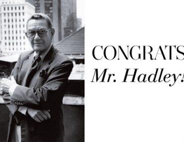 Albert-Hadley-Retires