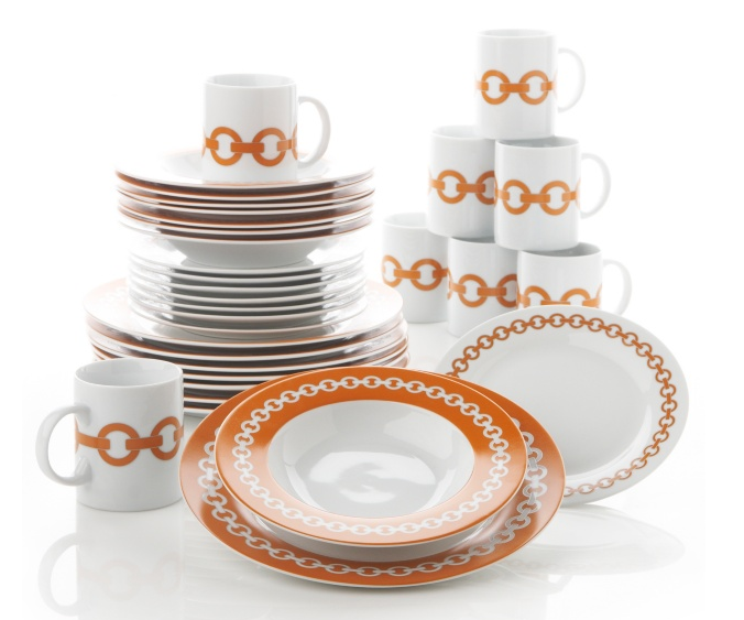 I ...  sc 1 st  Nicole Gibbons Style & Haute Deal: 32-Piece Happy Chic Dinnerware Set from Jonathan Adler ...