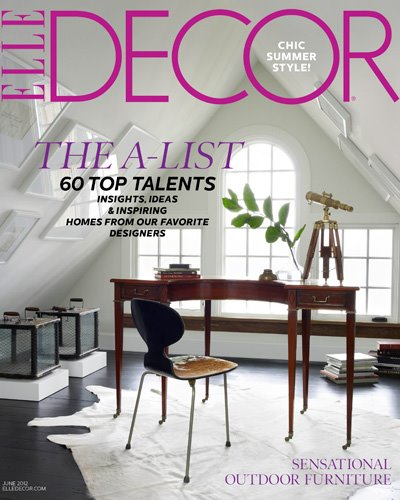 Elle Decor A-List Class Of 2012 - Nicole Gibbons Style