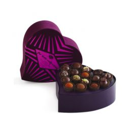 Noir Truffle Heart Collction