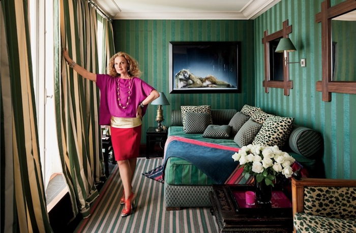 DVF's Paris Apartment