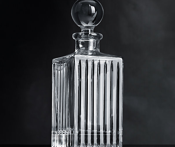 Boulevard Cut Crystal Decanter