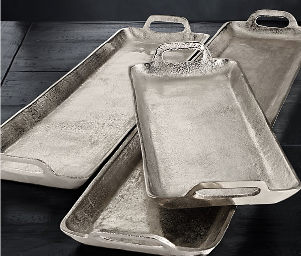 Grand Brasserie Cast Aluminum Trays