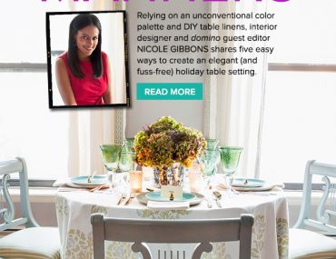 Nicole Gibbons - Domino - Table Manners