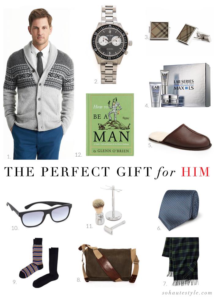 So Haute Gift Guide Men