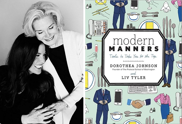 Liv Tyler and Grandmother Modern Manners