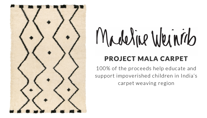 Madeline Weinrib Project Mala Carpet