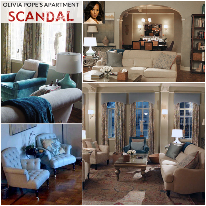Get The Look Olivia Pope S Apartment On Scandal