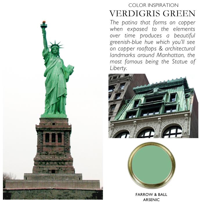 City Palette-NY Nicole Gibbons-VERDIGRIS-Farrow & Ball