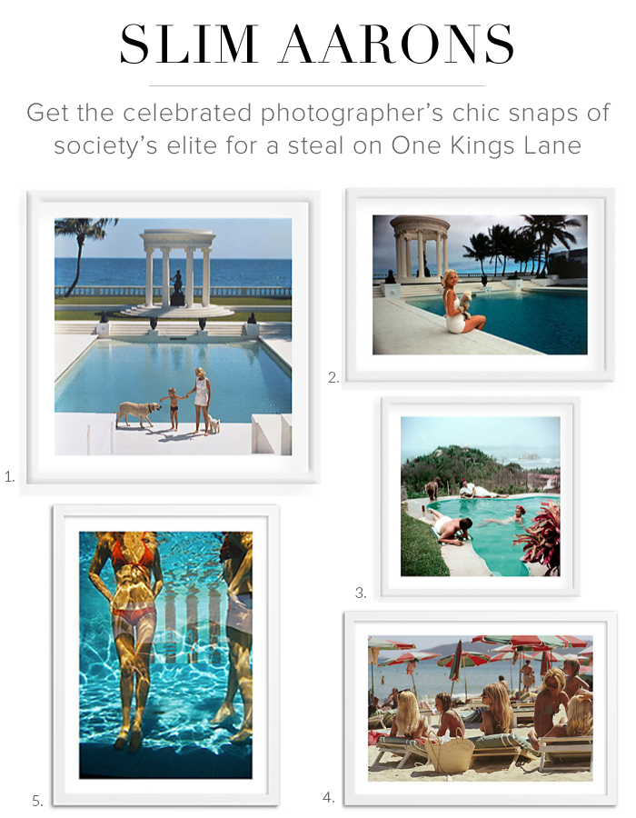 Slim Aarons One Kings Lane Sale