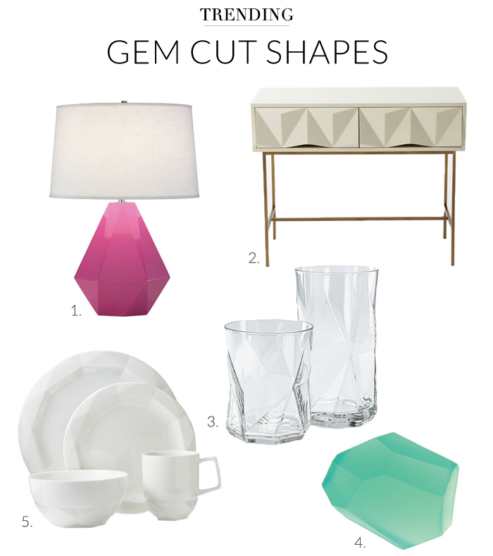 gem cut shapes