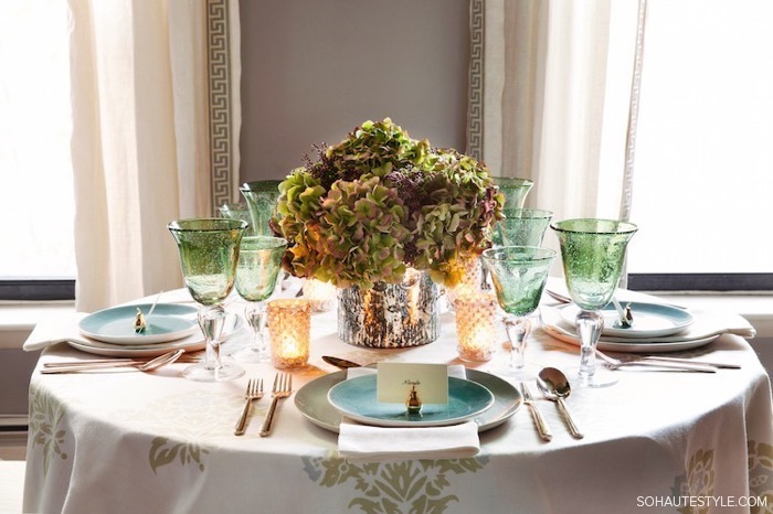 Thanksgiving Table Setting Ideas 13