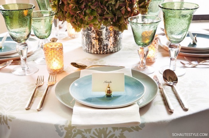 Thanksgiving Table Setting Ideas 17