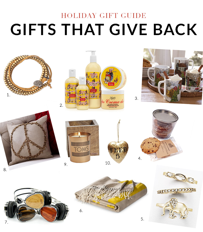 Holiday Gift Guide 2014  10 Gifts that Give Back - Nicole Gibbons Style 4b084ba8c5