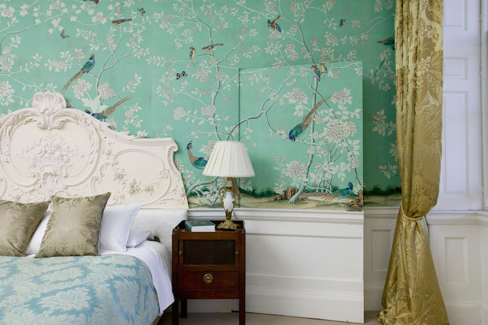 de Gournay Gracie Wallpaper Look for Less Nicole Gibbons Style