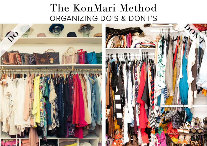 The Kon Mari Method Do's & Dont's - The Life-Changing Japanese art of Tidying Up - Read more at sohautestyle.com