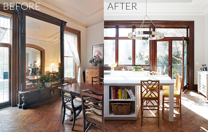 Before & After: Brooklyn Brownstone Kitchen Renovation - Nicole ...