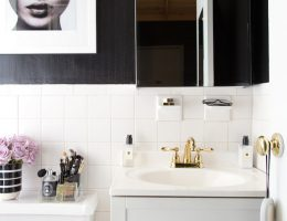 A Stylish Rental Bathroom Upgrade for Under $500!