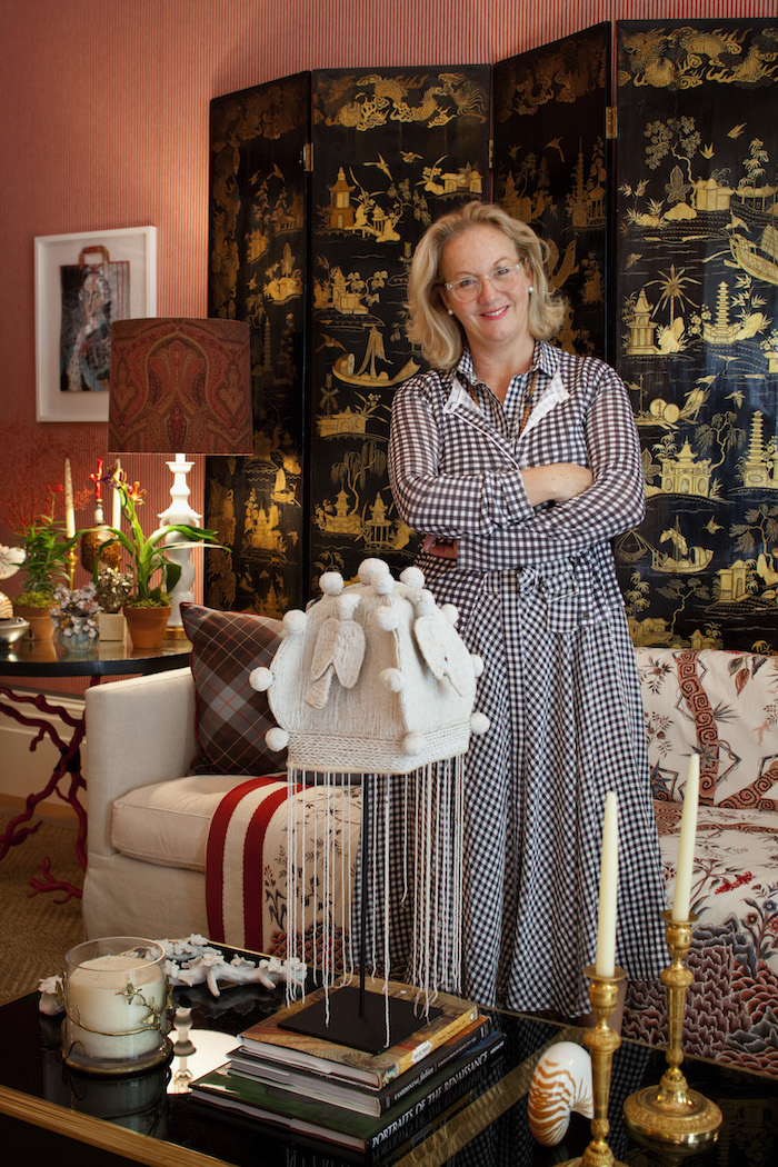 "A Kips Bay Designer Showhouse Favorite: Alessandra Branca's ""Le Salon Rouge"" Living Room 