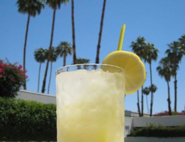 Cocktail Hour: The Parker Palm Springs Muddled Lemonade Recipe