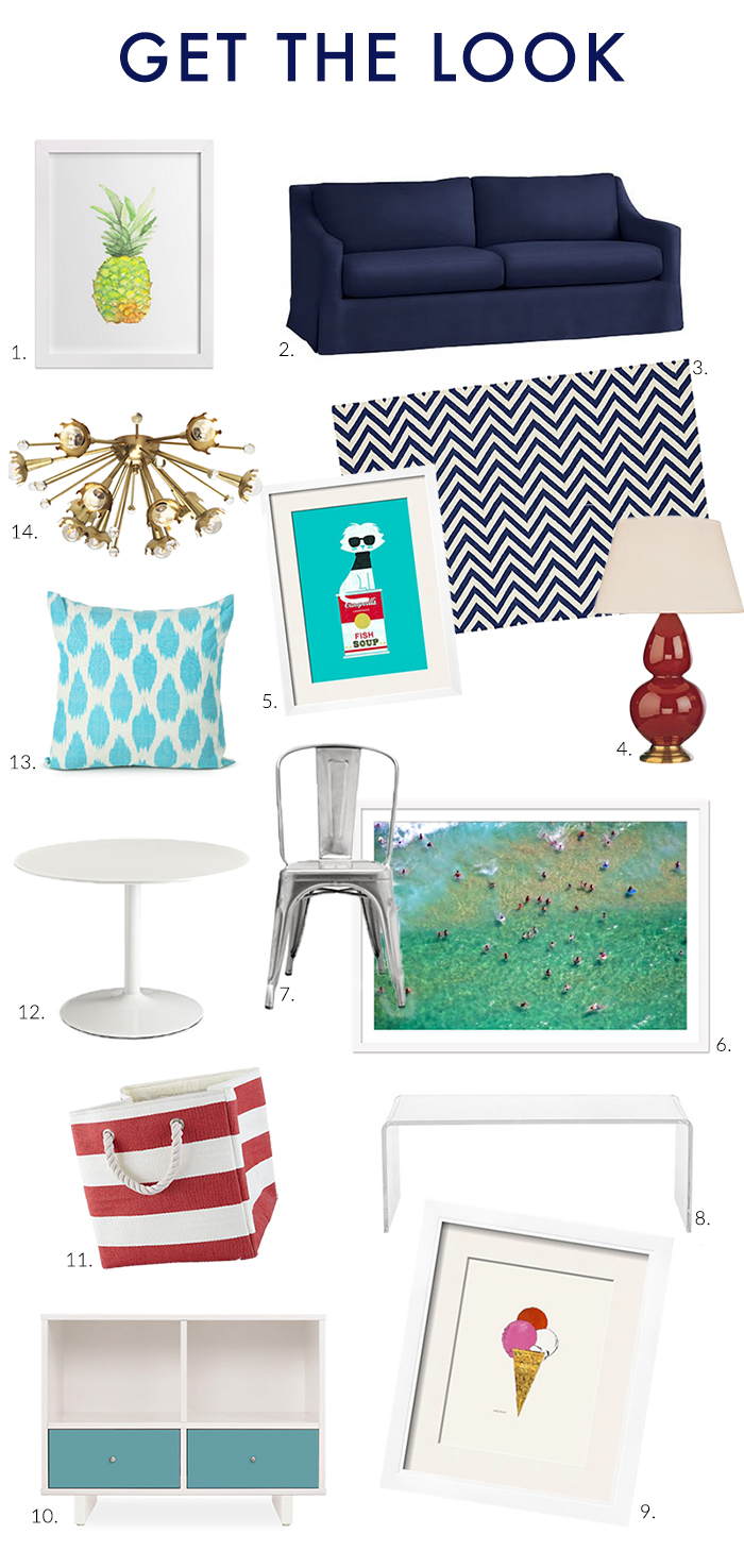 Stylish & Sophisticated Playroom - Get the Look