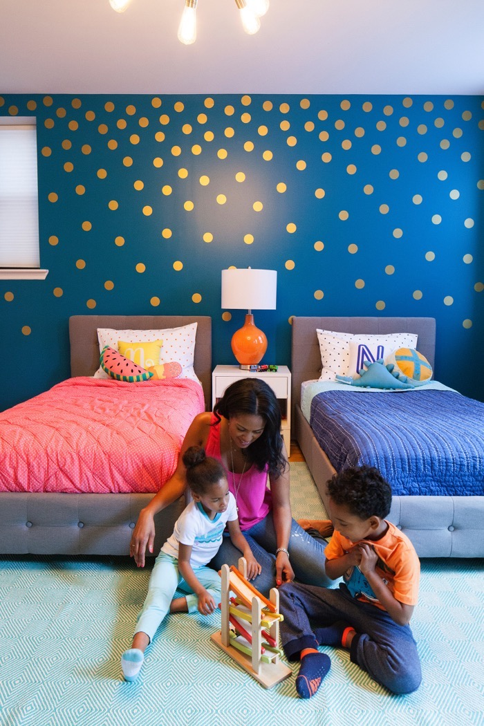 Twins Room Makeover 12