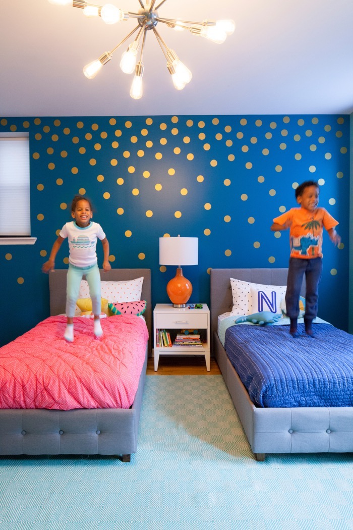 Twins Room Makeover 17
