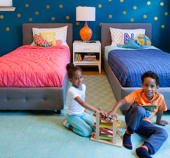 Twins Room Makeover 9