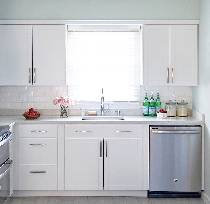 Classic White Kitchen a classic white kitchen makeover on a budget - nicole gibbons style
