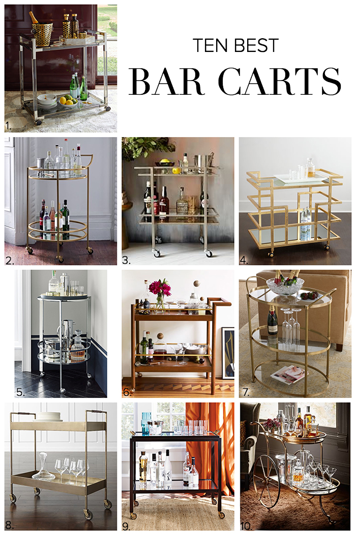 10 Best Bar Carts