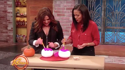 DIY Halloween No-Carve Pumpkin