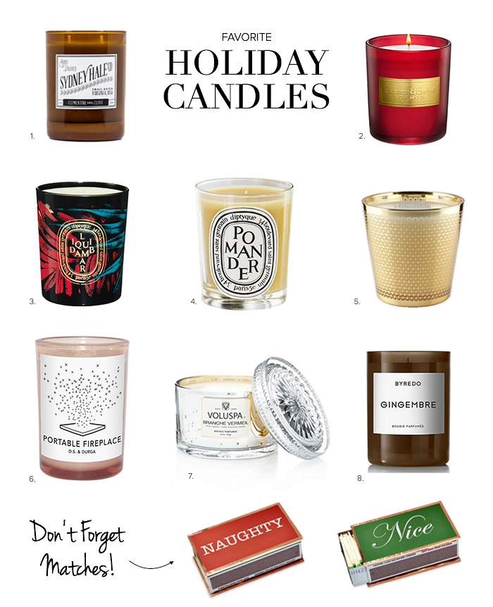 Holiday Candles 3