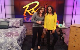 Nicole Gibbons Cleaning Tips on the Rachael Ray Show