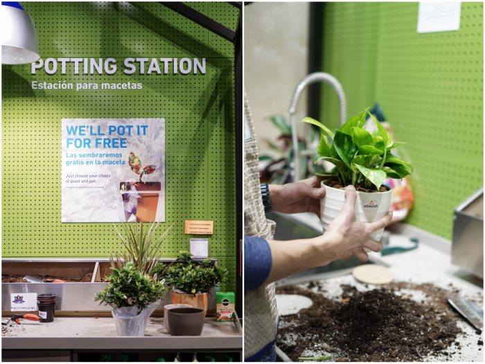 Lowes Potting Station