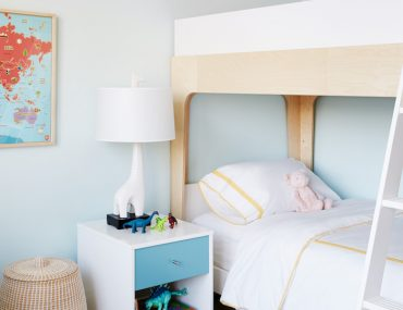 A Sunny & Stylish Shared Kids Room Makeover_4