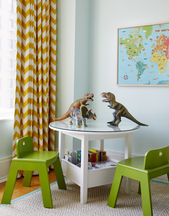 A Sunny & Stylish Shared Kids Room Makeover_7