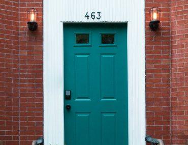Schlage front Door Makeover Hero Gibbons