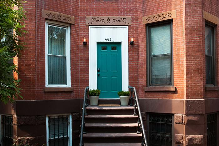 Schlage front Door Makeover Nicole Gibbons1