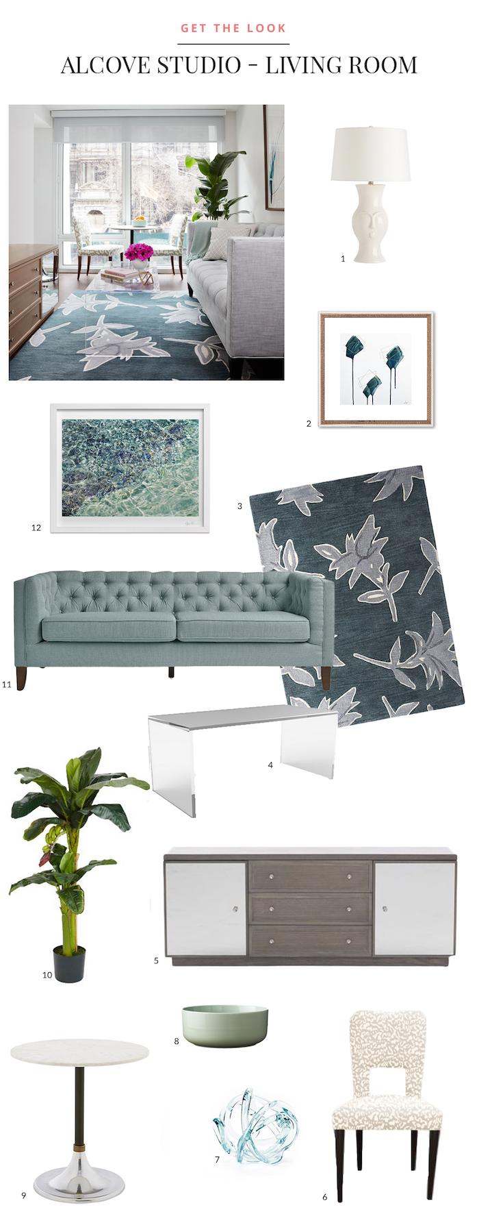 Alcove Studio - Living Room
