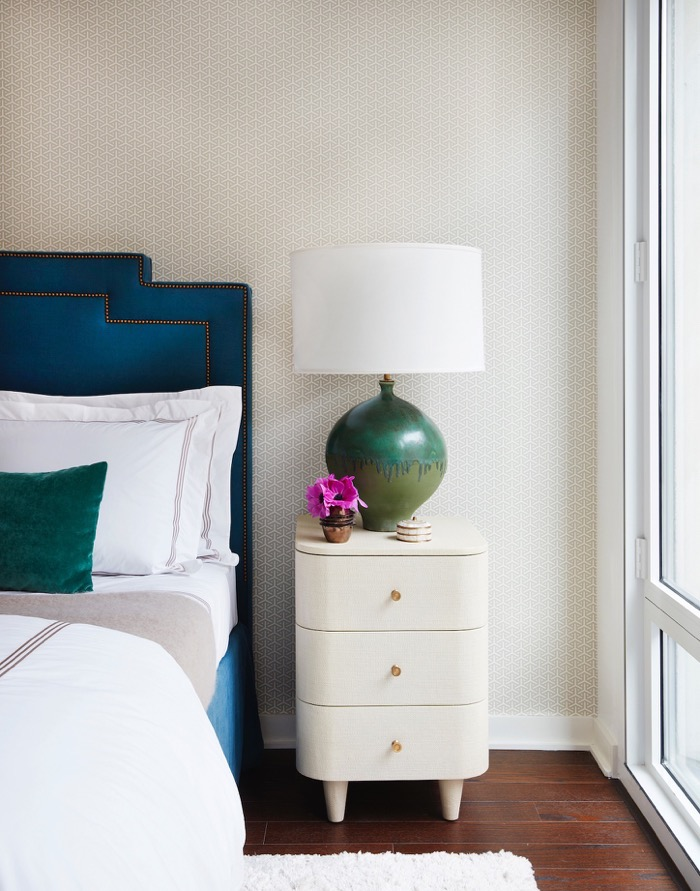 Luxe Studio Apartment Makeover – The Bedroom Alcove - Nicole Gibbons ...