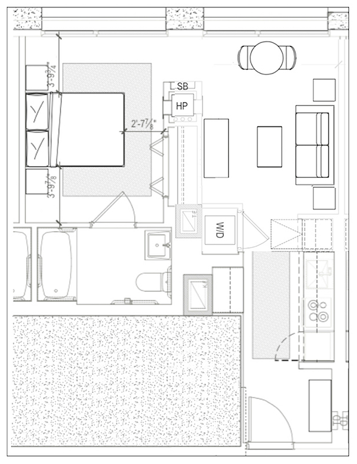 Enclave Model Floorplans
