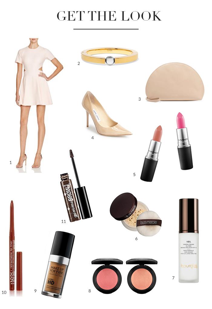 Summer Get The Look Crown Braid Pink Dress