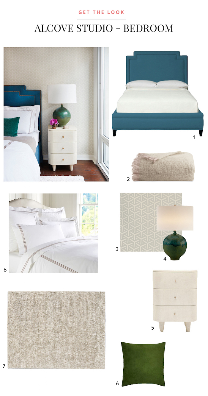 Alcove Studio - Bedroom