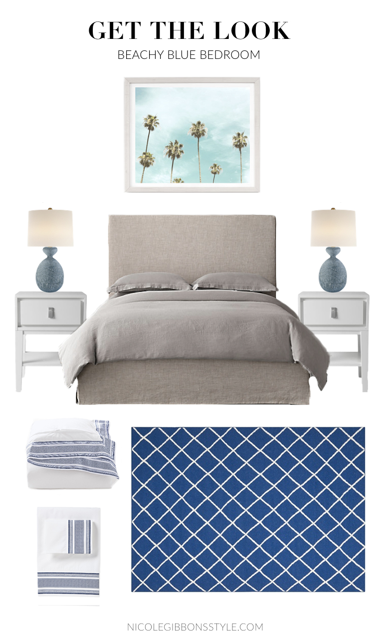 Beachy Coastal Bedroom GTL