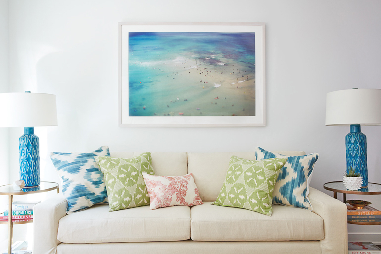 6 Ways to Channel Summer Beach House Vibes at Home - Nicole Gibbons ...