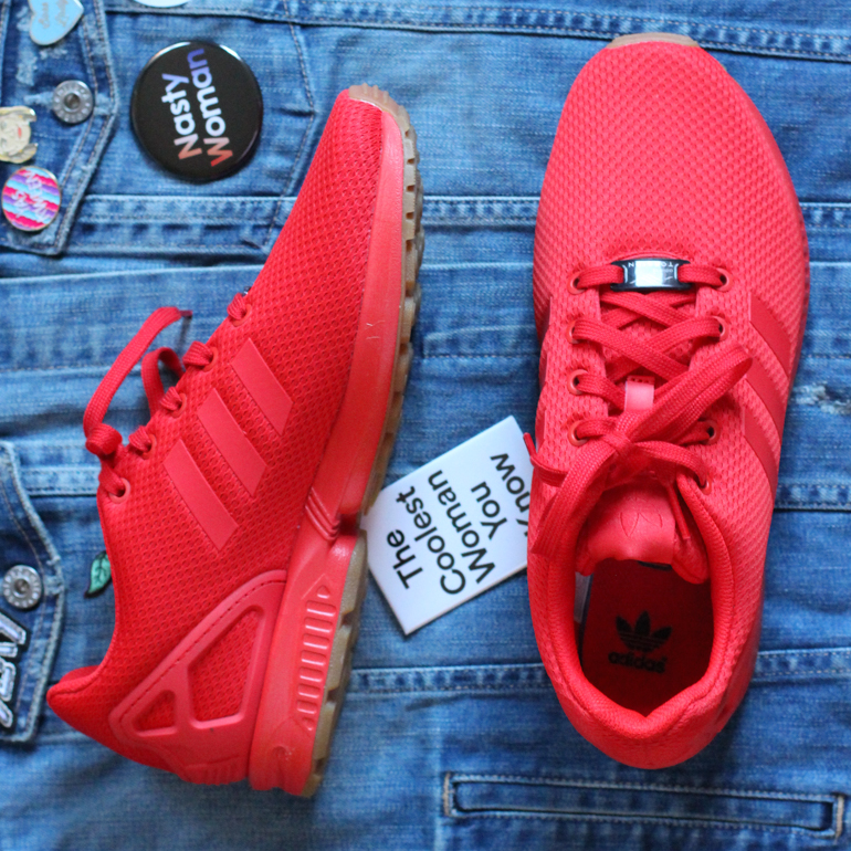 Bright Red Sneakers_7
