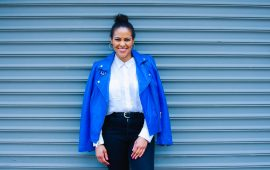 Cerulean Blue Leather Jacket-8