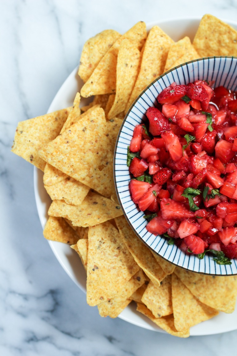 Delicious Strawberry Salsa Recipe 1