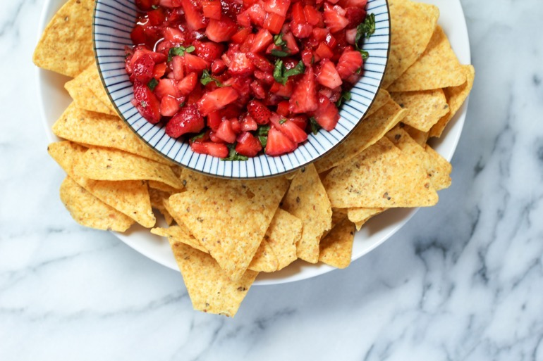Delicious Strawberry Salsa Recipe 2